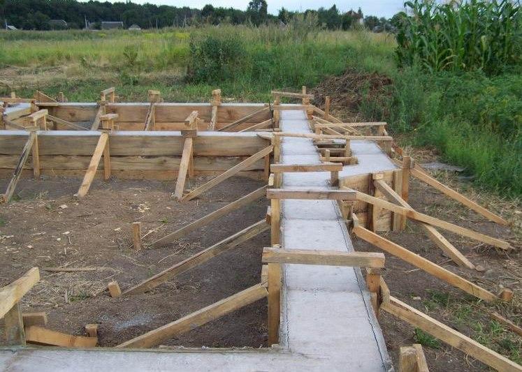Фундамент под каркасный дом