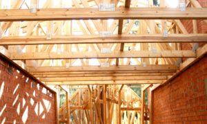 Крыша. Перекрытие из стропил