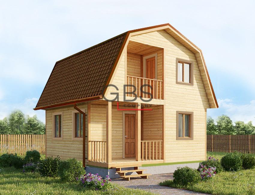Дачный дом. Проект Удачный