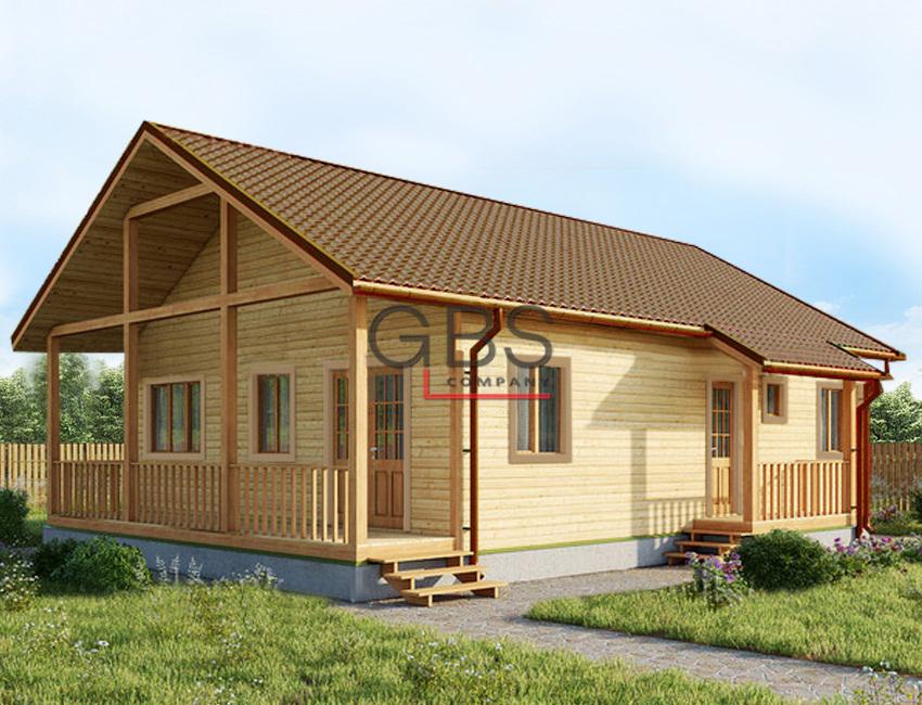 Проект дачного дома Новогород