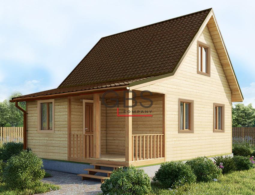 Проект дачного дома Владимир