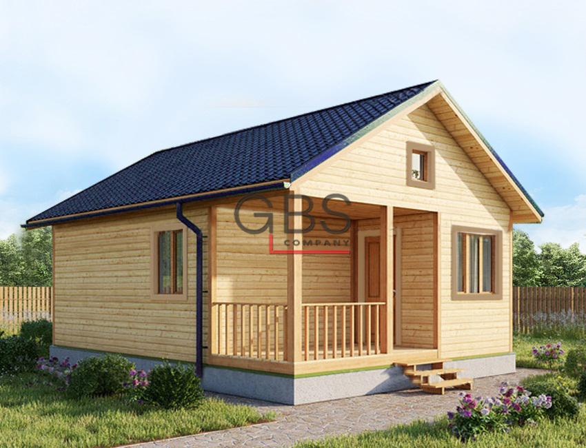 Дачный дом . Проект Уют-2
