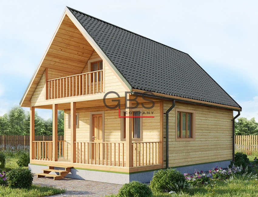 Проект дачного дома Терем