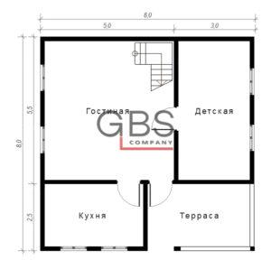 Схема дачного дома Рязань