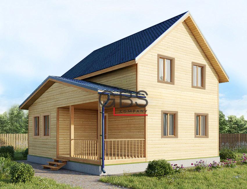 Проект дачного дома Рязань