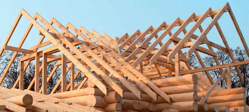 Стропильный конструкции крыши