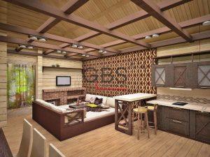 Стеновые панели из дерева от компании GBS-Company